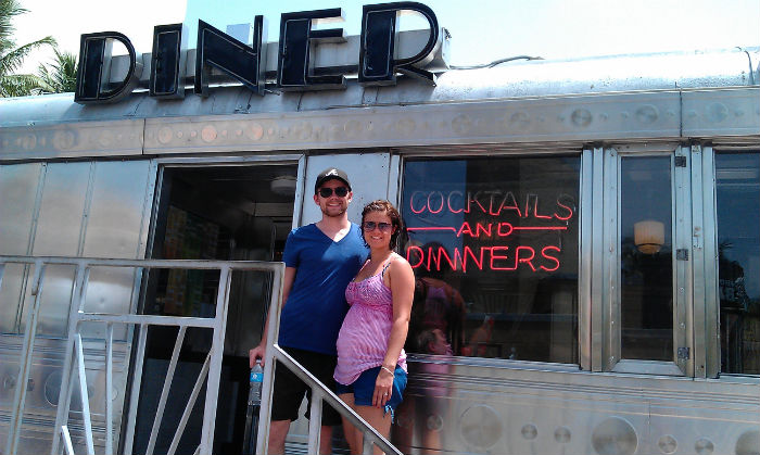 Diner in South Beach