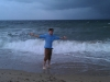 Fort Lauderdale Sturm am Strand